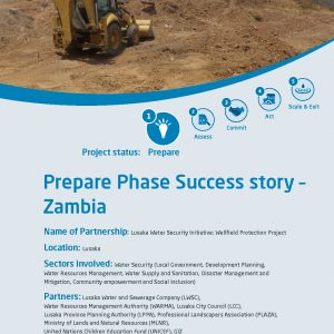 Lusaka Water Security Initiative: Wellfield Protection Project
