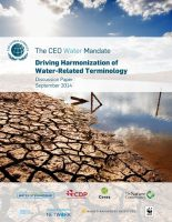 Driving Harmonization of Water-Related Terminology cover