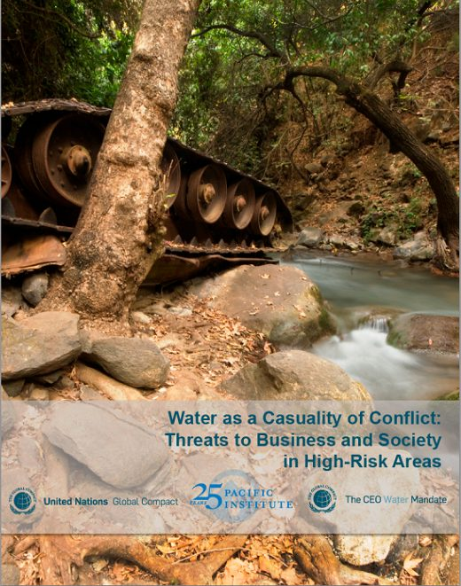 Water as a Casualty of Conflict