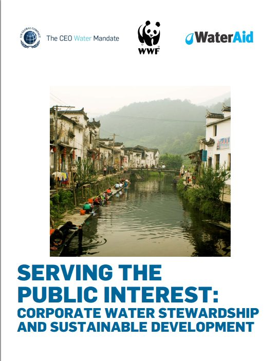 Serving the Public Interest: Corporate Water Stewardship