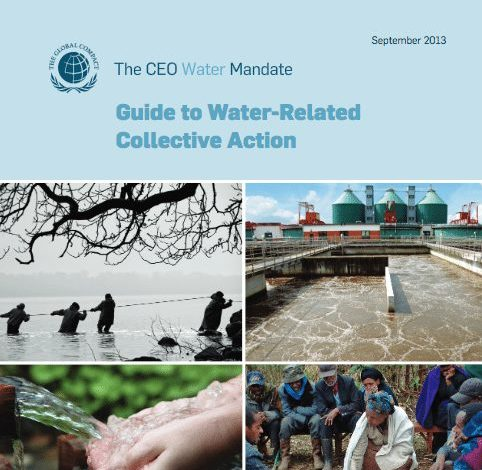 Guide to Water-Related Collective Action cover