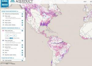 WRI Global Forest Watch Water