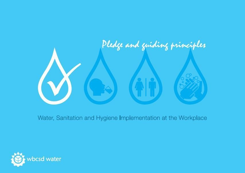 WASH at the workplace pledge