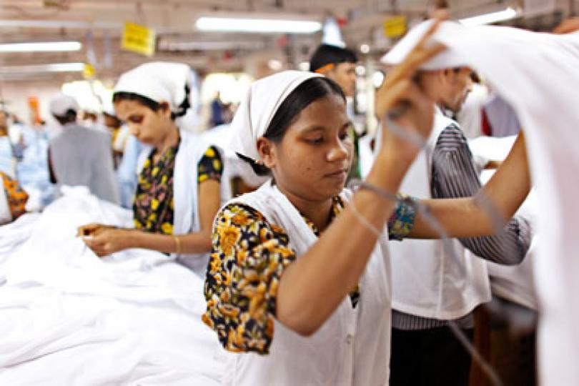 women working in factory