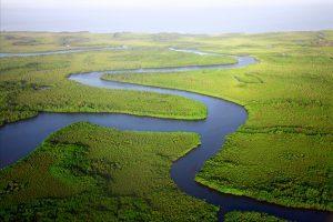 Winding river taken by Dan Rozier