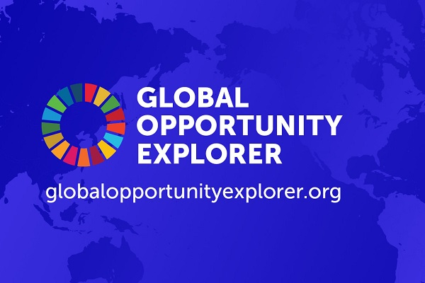 global opportunity explorer sdg