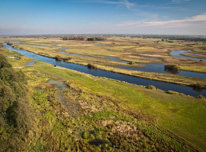 Biebrza River, Poland