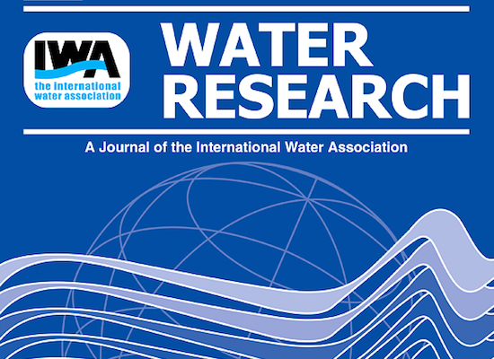 Water Research - A Journal of the International Water Association