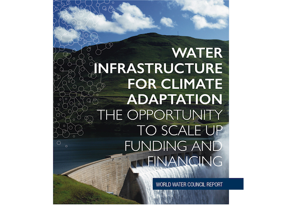 text: Water Infrastructure For Climate Adaptation