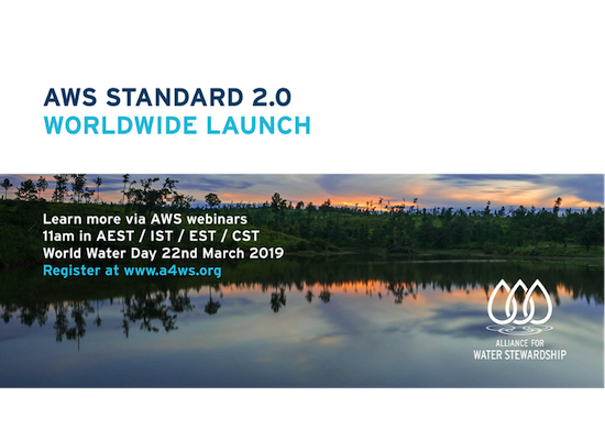 World Water Day - AWS Standard 2.0