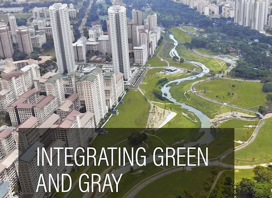 Text: integrating-green-and-gray