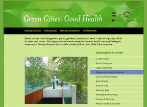 Text: green-cities-good-health - University of Washington
