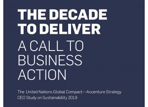 the decade to delivery a call to business action