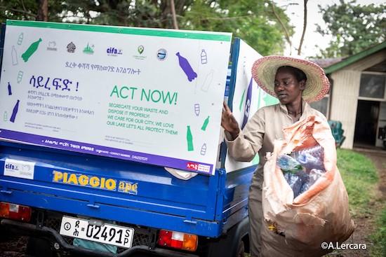 plastics polution in Hawassa