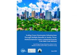Scaling Green Stormwater Infrastructure Through Multiple Benefits in Austin Texas