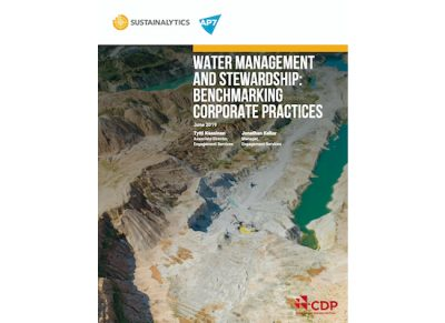 Water Management and Stewardship: Benchmarking Corporate Practices cover image