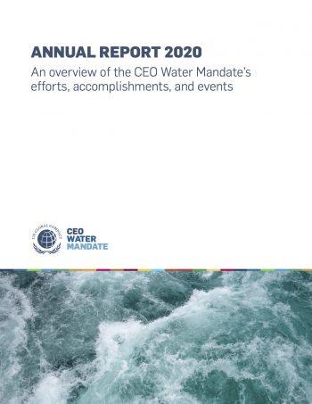 CEO Water Mandate - Annual Report 2020